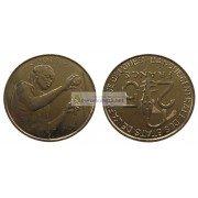 Западная Африка (BCEAO) 25 франков 2017 год.