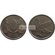 Республика Ботсвана 50 тхебе 2013 год.