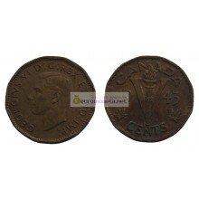 Канада 5 центов 1945 год Король Георг VI (1937 - 1952)