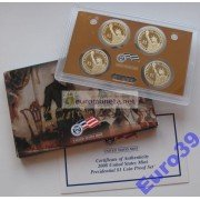 США набор президенты доллар 2008 S 4 монеты пруф Proof