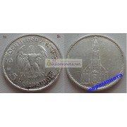 Германия 3 рейх 5 марок 1935 A серебро кирха состояние