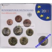 Германия годовой набор евро 2011 год J блистер UNC АЦ
