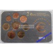 Люксембург набор евро 2004 год АЦ UNC лимитированная серия 50 000 штук