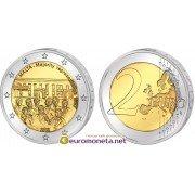 Мальта 2 евро 2012 год Совет большинства 1887 года, биметалл АЦ из ролла