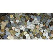 МИР 1 кг 1000 гр иностранных монет микс только монеты экзотика