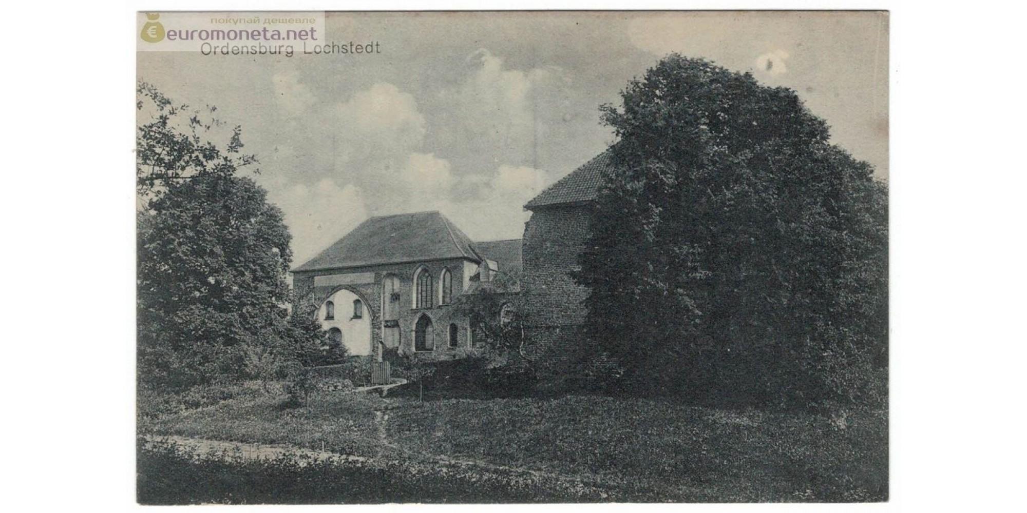 Открытка Пруссия Мальборк Malbork Ordensburg Мариенбург Орденсбург замок