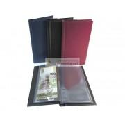 Альбом для банкнот (банкнотница) на 20 банкнот, чёрный, пр-во СОМС, Россия